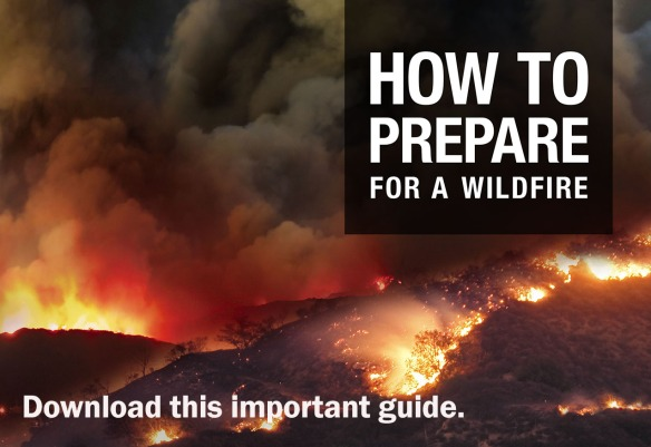 Preparing for a wildfire image